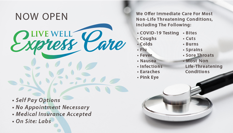 Live Well Express Care in Chillicothe OH